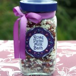 Easy Spa Craft: Rose Petal Milk Bath