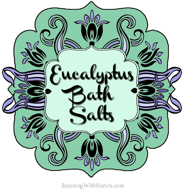 Eucalyptus Bath Salts Label
