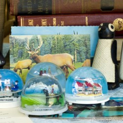 Snow Globes and Postcards