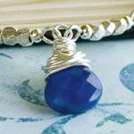 Briolette Detail Lapis Lazuli Necklace
