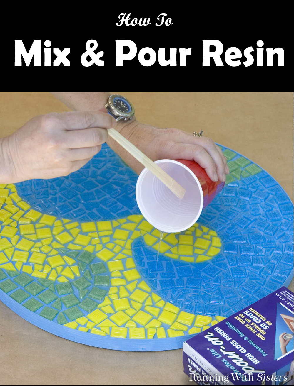 Mix and Pour Resin
