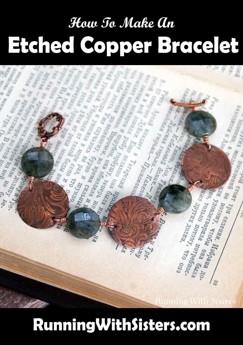 Organic Chemistry Etched Copper Bracelet Pinterest