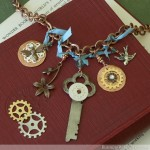 Steampunk Lavaliere Necklace