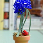 Sweet Violet Topiary