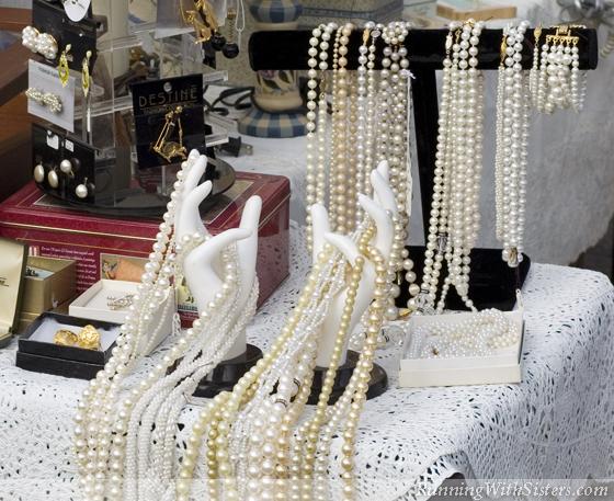 Vanity Flair Display Hands and Pearls