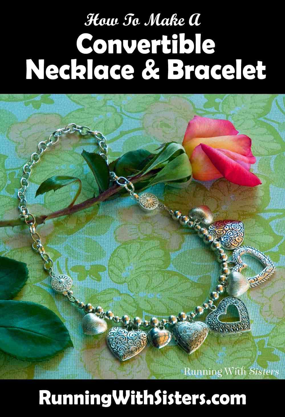 Change Of Heart Convertible Necklace Bracelet