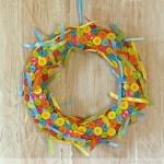 Cute As A Button Wreath