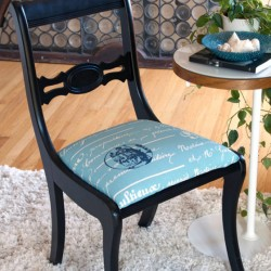 Paris Flea Market Chair Makeover
