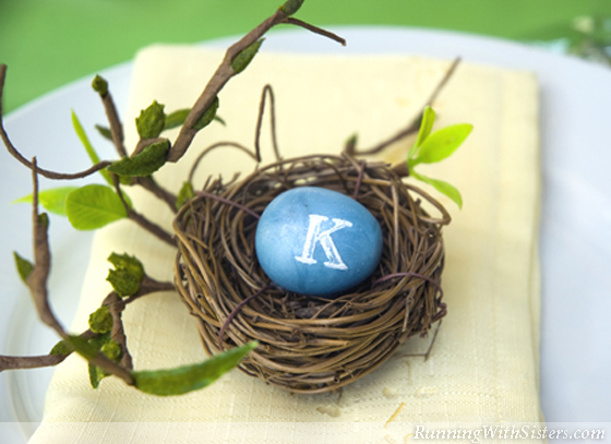 Easter Placecard Party Favors Nest