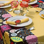 Sew A Tablecloth: Pretty Poppy Tablecloth