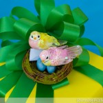 Bird's Nest Baby Shower Gift Wrap