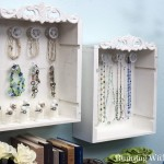 Wine Crate Jewelry Cabinet