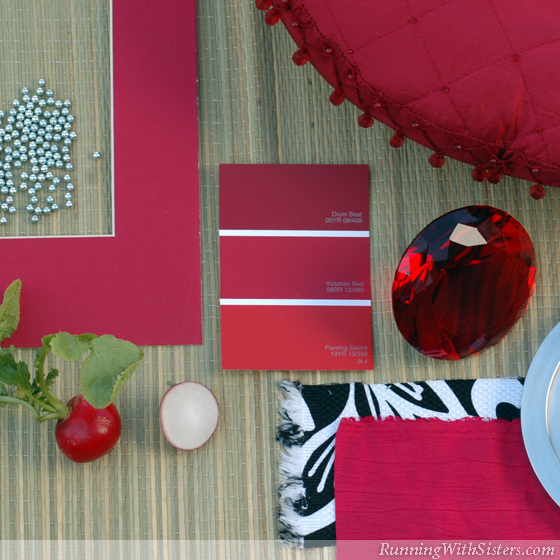 Radish Red Mood Board