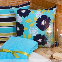 Bath Decorating Trend Water Color