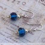 How To Make Wire Work Beaded Earrings: Glamorous Glass Bead Earrings