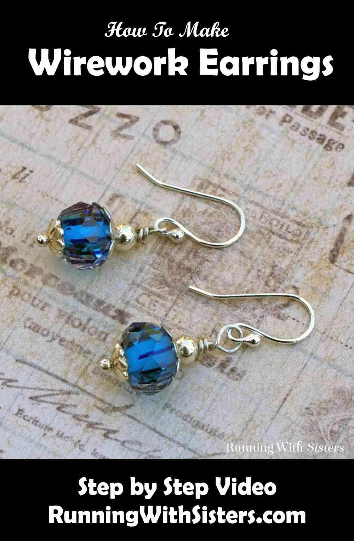 Basic Wirework Earrings Pinterest
