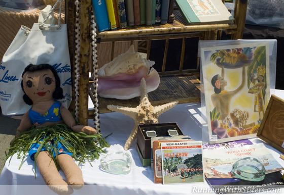 Hula Doll and Matson Menu