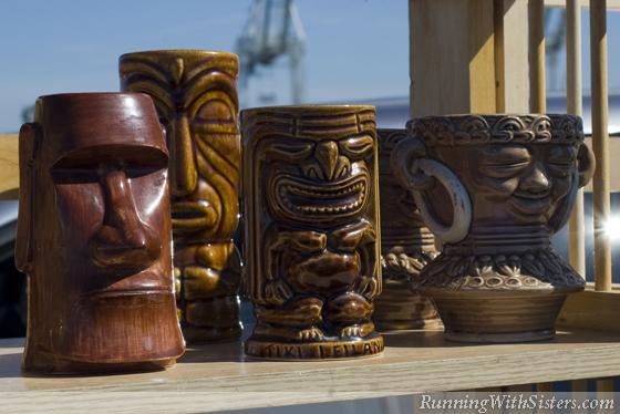 Aloha Summer Tiki Mugs