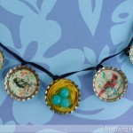Birdy Bottle Cap Necklace