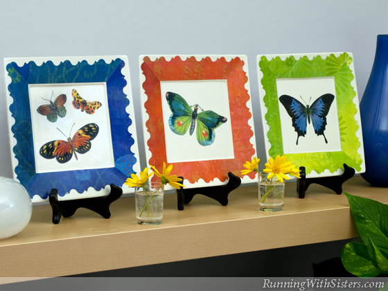 Butterfly Brights Plates