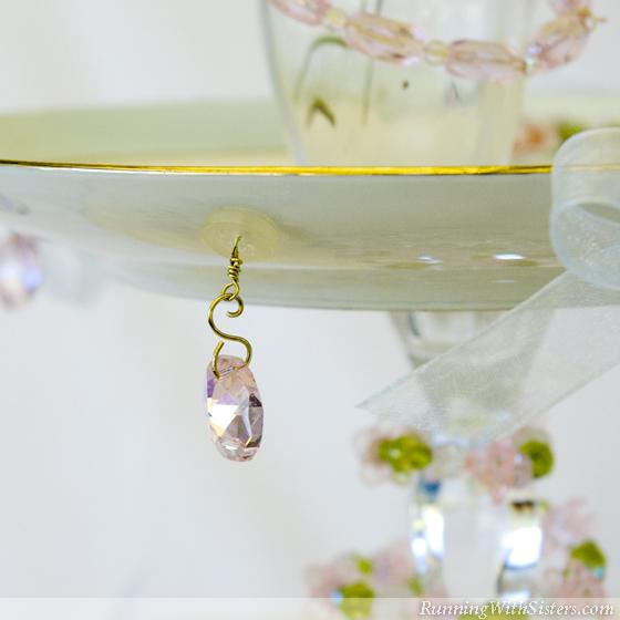 Chandelier Prism Detail