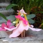 Clothespin Flower Fairies