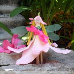 Clothespin Flower Fairy
