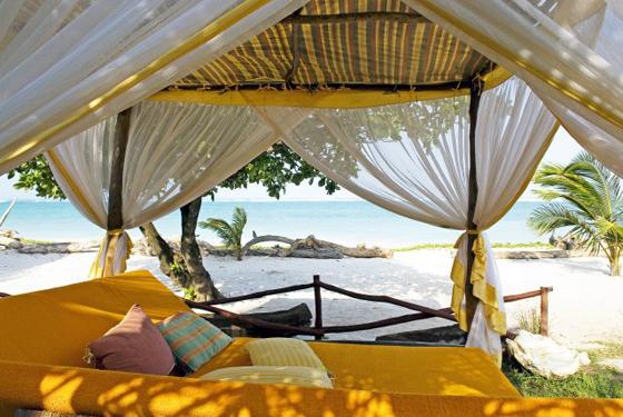 Cabanas Are Cozy - AfroChic Diani Cabana