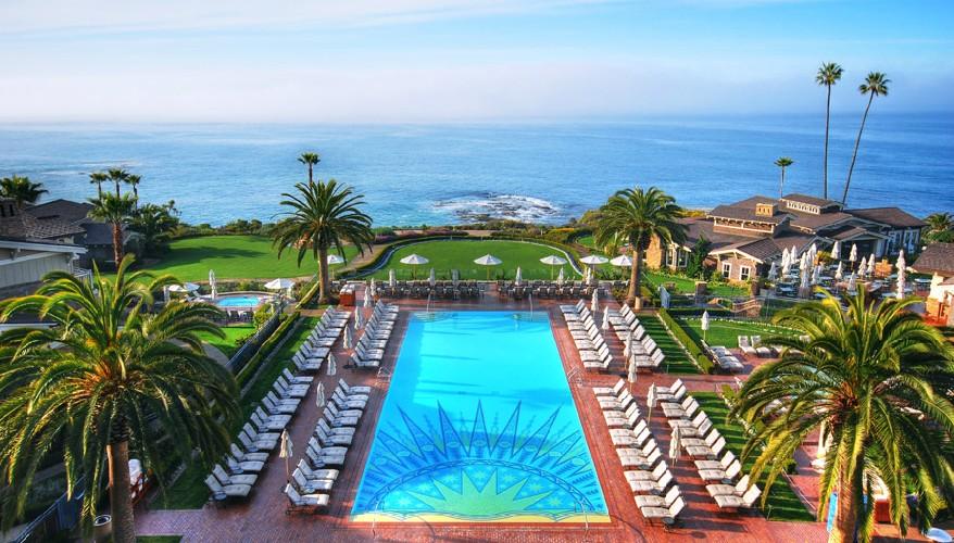 Pools Encourage Reflection - Montage Laguna Beach