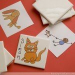 Kid Art Coasters