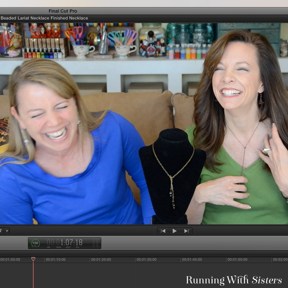 Meet Jennifer and Kitty O'Neil, The O'Neil Sisters, who work together writing, designing and teaching online video classes in this feature from Craft Ideas.