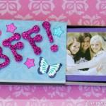 Kid Craft! BFF Matchbox Mini Album