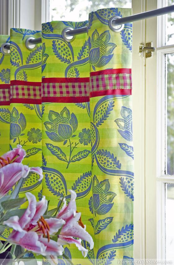 Palm Beach Cafe Curtain
