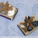 Seashell Matchboxes