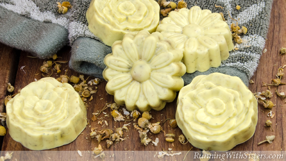 Chamomile Flower Soaps