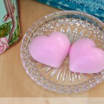 Peppermint Heart Soaps