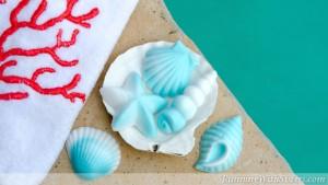Seashell Swirled Soaps