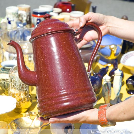 Colorful Coffee Pot