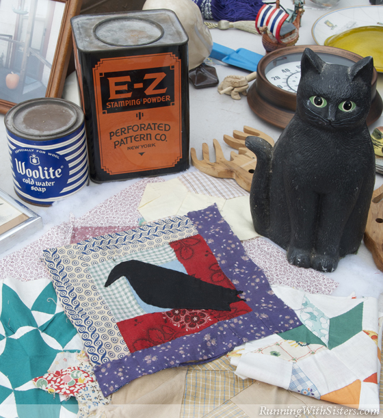 Crow Quilting Square