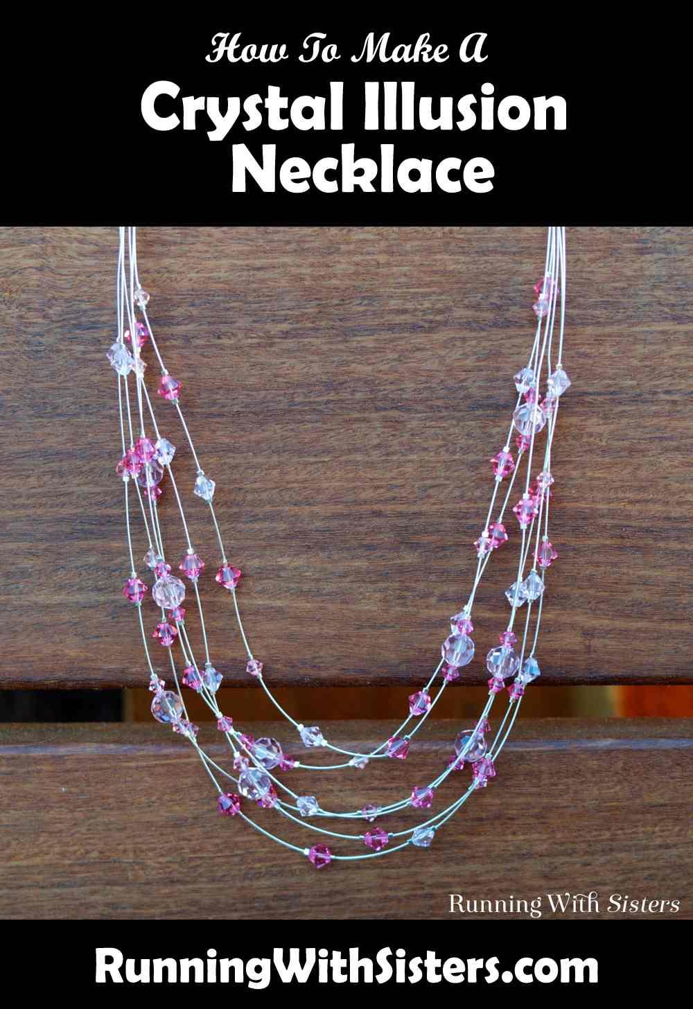 Crystal Illusion Necklace Pinterest
