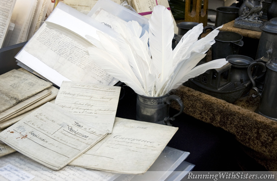 Vintage Documents & Quills