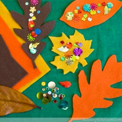 Thanksgiving Leaf Confetti