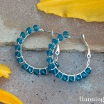 How To Make Crystal Wrapped Earrings