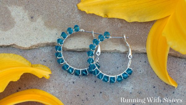 These crystal wrapped earrings are so pretty and so fast! Make a pair to wear to a holiday party, then make them for friends for gifts!