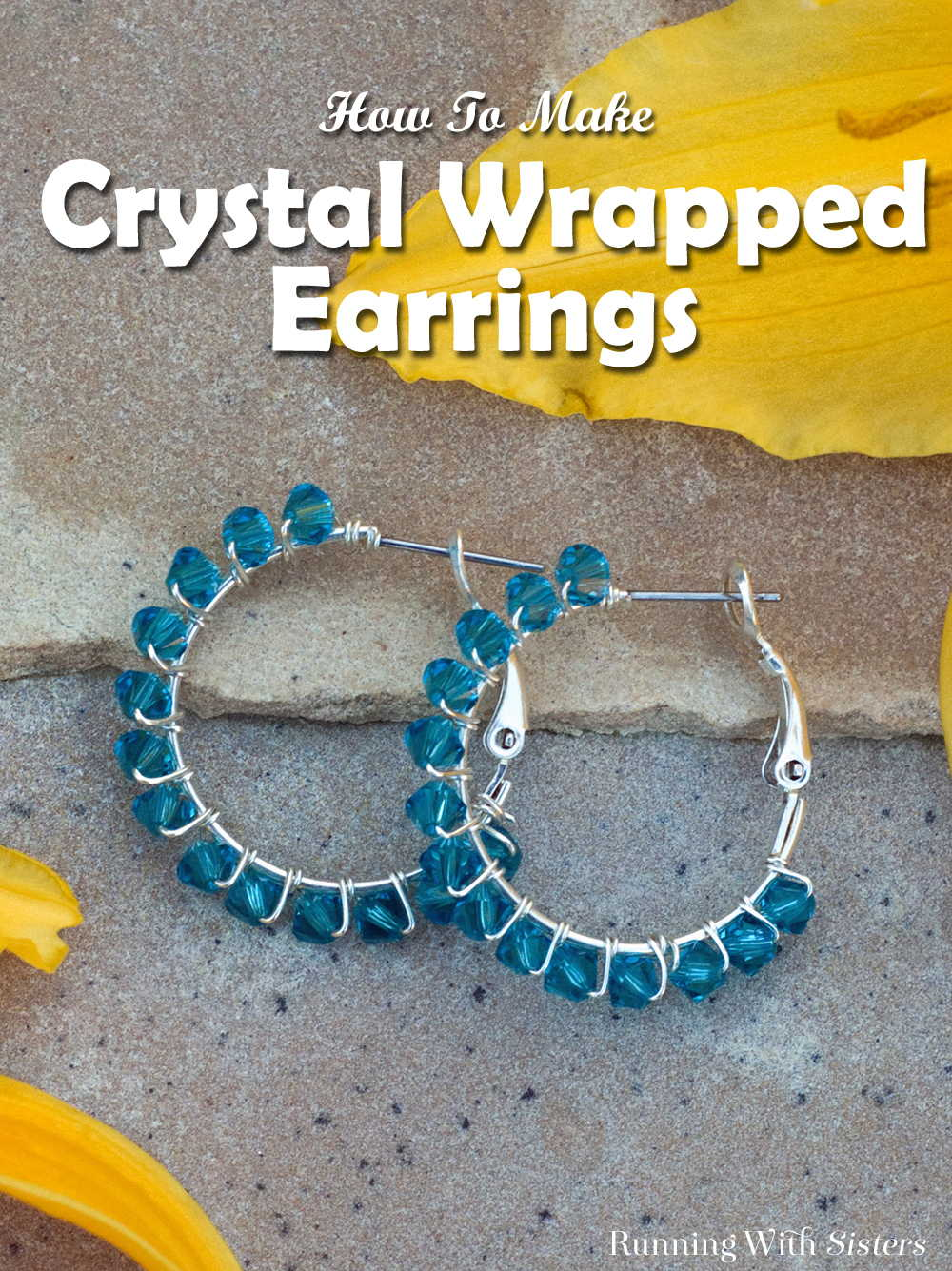 Crystal Wrapped Earrings - Pinterest