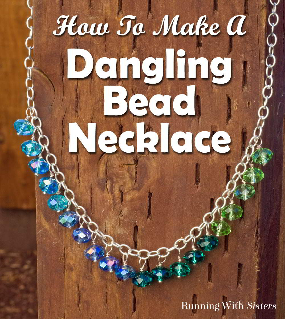 Dangling Bead Necklace Pinterest