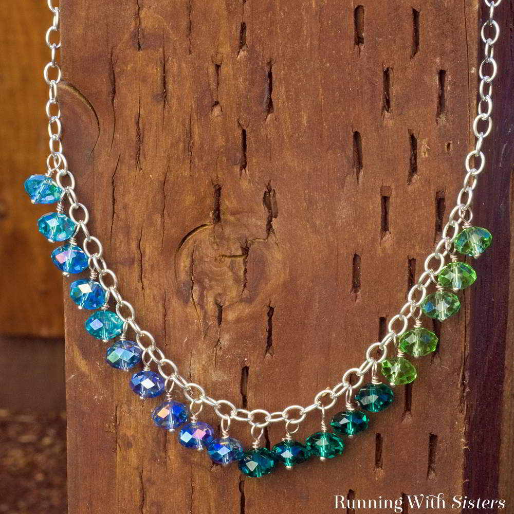 Dangling Bead Necklace Square