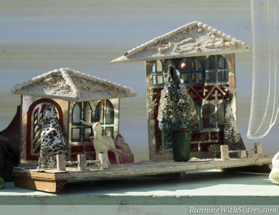 Foil Chistmas Houses