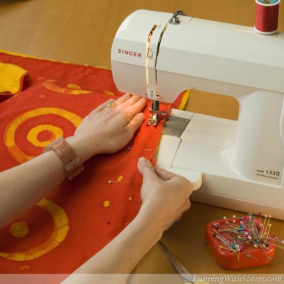 Step 2 Sew The Fabric