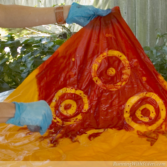 Step 4 Dye Fabric